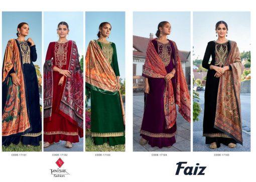 Tanishk Faiz Velvet Salwar Suit Wholesale Catalog 5 Pcs 12 510x363 - Tanishk Faiz Velvet Salwar Suit Wholesale Catalog 5 Pcs
