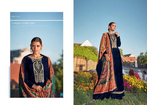 Tanishk Faiz Velvet Salwar Suit Wholesale Catalog 5 Pcs 2 510x363 - Tanishk Faiz Velvet Salwar Suit Wholesale Catalog 5 Pcs