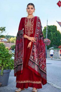 Tanishk Faiz Velvet Salwar Suit Wholesale Catalog 5 Pcs