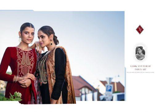 Tanishk Faiz Velvet Salwar Suit Wholesale Catalog 5 Pcs 3 510x363 - Tanishk Faiz Velvet Salwar Suit Wholesale Catalog 5 Pcs