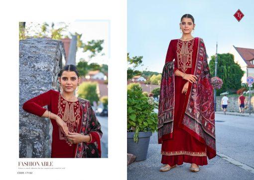 Tanishk Faiz Velvet Salwar Suit Wholesale Catalog 5 Pcs 4 510x363 - Tanishk Faiz Velvet Salwar Suit Wholesale Catalog 5 Pcs