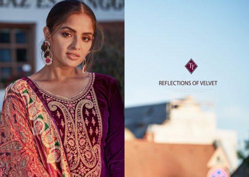 Tanishk Faiz Velvet Salwar Suit Wholesale Catalog 5 Pcs 5 510x363 - Tanishk Faiz Velvet Salwar Suit Wholesale Catalog 5 Pcs