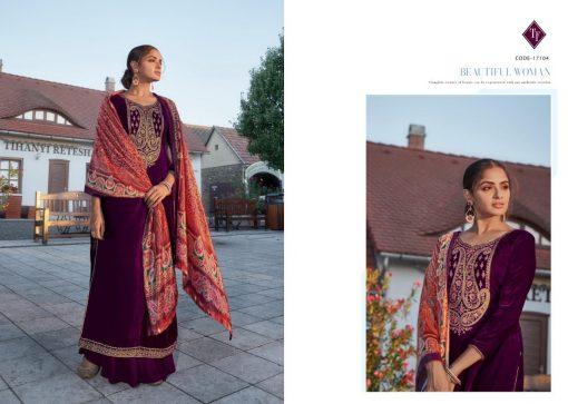 Tanishk Faiz Velvet Salwar Suit Wholesale Catalog 5 Pcs 8 510x363 - Tanishk Faiz Velvet Salwar Suit Wholesale Catalog 5 Pcs
