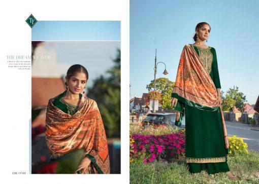 Tanishk Faiz Velvet Salwar Suit Wholesale Catalog 5 Pcs 9 510x363 - Tanishk Faiz Velvet Salwar Suit Wholesale Catalog 5 Pcs