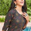 Tips & Tops Bandhej Kurti with Pant Wholesale Catalog 6 Pcs