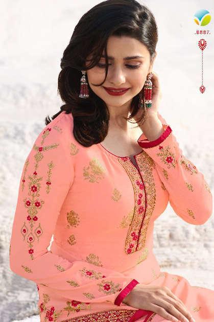 Vinay Kaseesh Ambition Prachi Desai Salwar Suit Wholesale Catalog 3 Pcs