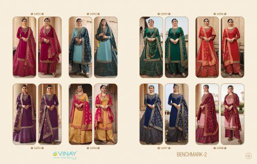 Vinay Kaseesh Benchmark Vol 2 Prachi Desai Salwar Suit Wholesale Catalog 8 Pcs 20 510x327 - Vinay Kaseesh Benchmark Vol 2 Prachi Desai Salwar Suit Wholesale Catalog 8 Pcs