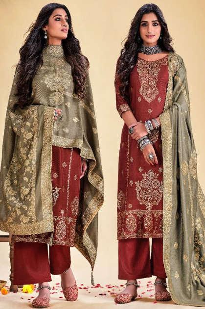 Viona Saffa Salwar Suit Wholesale Catalog 8 Pcs