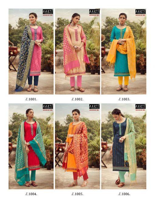 Z Black Banarasi Girl Salwar Suit Wholesale Catalog 6 Pcs 11 510x680 - Z Black Banarasi Girl Salwar Suit Wholesale Catalog 6 Pcs