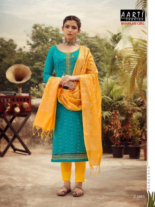 Z Black Banarasi Girl Salwar Suit Wholesale Catalog 6 Pcs 2 510x680 - Z Black Banarasi Girl Salwar Suit Wholesale Catalog 6 Pcs