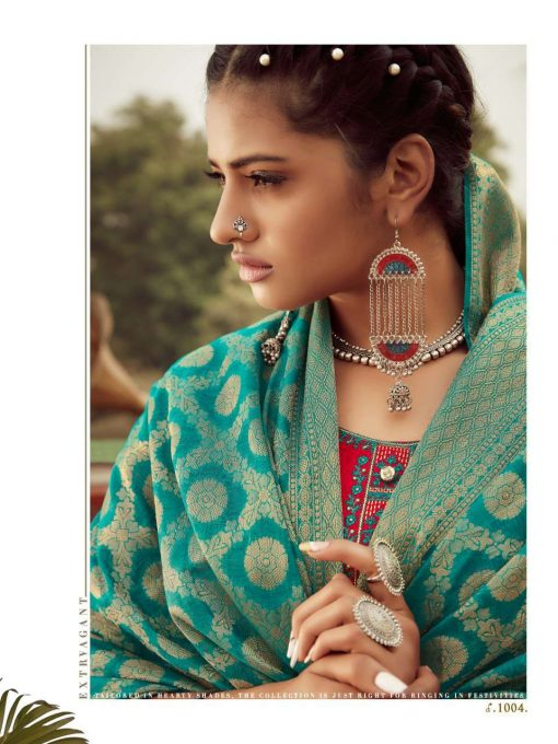 Z Black Banarasi Girl Salwar Suit Wholesale Catalog 6 Pcs 3 510x680 - Z Black Banarasi Girl Salwar Suit Wholesale Catalog 6 Pcs