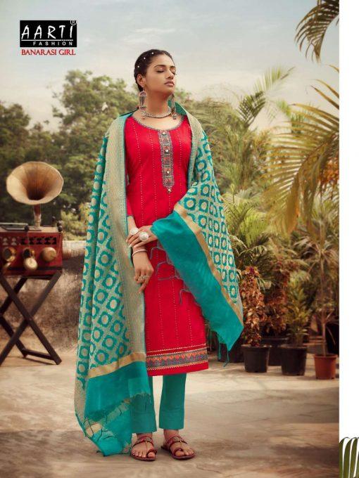 Z Black Banarasi Girl Salwar Suit Wholesale Catalog 6 Pcs 4 510x680 - Z Black Banarasi Girl Salwar Suit Wholesale Catalog 6 Pcs