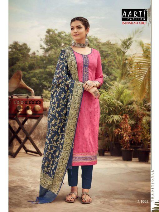 Z Black Banarasi Girl Salwar Suit Wholesale Catalog 6 Pcs 7 510x680 - Z Black Banarasi Girl Salwar Suit Wholesale Catalog 6 Pcs