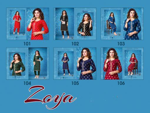 Zoya Kurti with Pant Wholesale Catalog 6 Pcs 8 copy 510x383 - Zoya Kurti with Pant Wholesale Catalog 6 Pcs