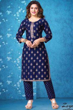 Zoya Kurti with Pant Wholesale Catalog 6 Pcs