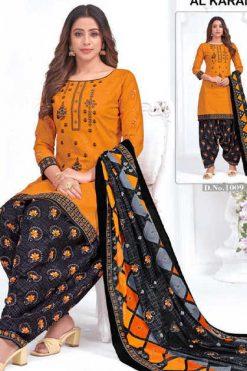 Al Karam Amber Patiyala Salwar Suit Wholesale Catalog 10 Pcs