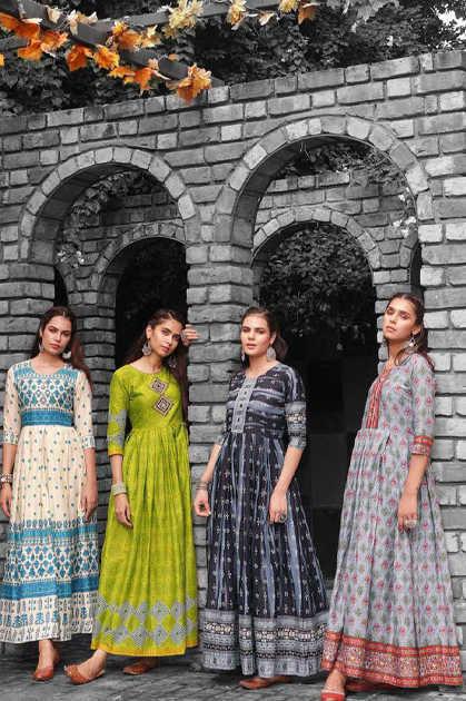 Aradhna Fashion Fire Vol 1 Kurti Wholesale Catalog 12 Pcs