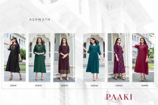 Ashwath Trendz Paaki Vol 1 Kurti Wholesale Catalog 6 Pcs 8 510x340 - Ashwath Trendz Paaki Vol 1 Kurti Wholesale Catalog 6 Pcs