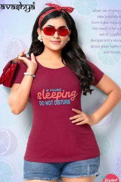 Avashya Replay Vol 1 T-Shirt Wholesale Catalog 8 Pcs