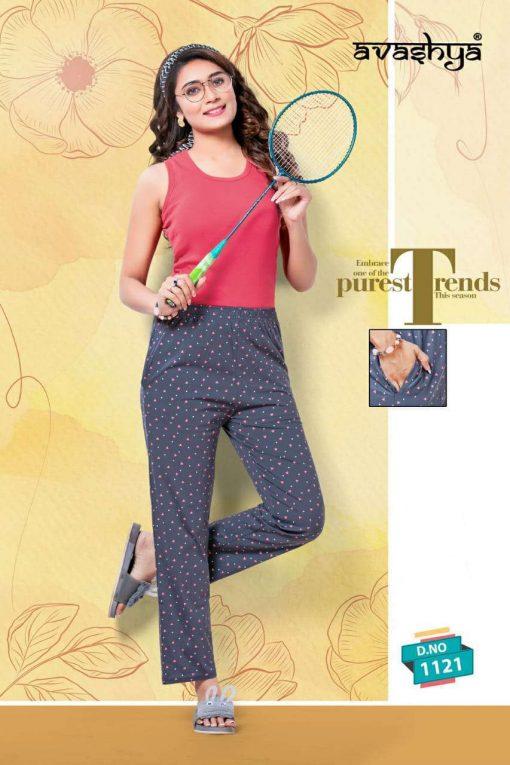 Avashya Retro Pajamas Vol 4 Wholesale Catalog 8 Pcs 5 510x765 - Avashya Retro Pajamas Vol 4 Wholesale Catalog 8 Pcs