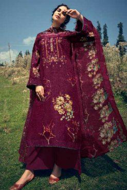 Belliza Kimaya Pashmina Salwar Suit Wholesale Catalog 10 Pcs