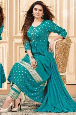 Dholna Kurti with Dupatta Bottom Wholesale Catalog 8 Pcs