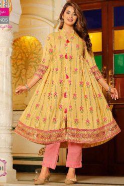 Diya Trends Ethnicity Vol 8 by Kajal Style Kurti Wholesale Catalog 8 Pcs