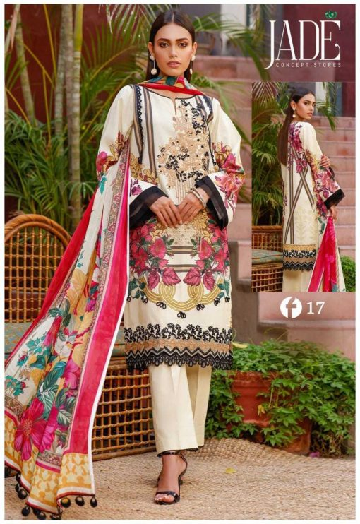 Firdous Urbane Luxury Lawn Collection Vol 2 Salwar Suit Wholesale Catalog 8 Pcs 3 1 510x742 - Firdous Urbane Luxury Lawn Collection Vol 2 Salwar Suit Wholesale Catalog 8 Pcs