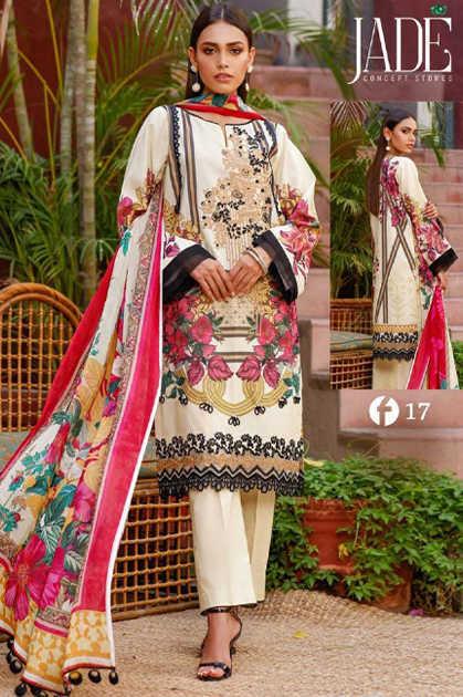 Firdous Urbane Luxury Lawn Collection Vol 2 Salwar Suit Wholesale Catalog 8 Pcs