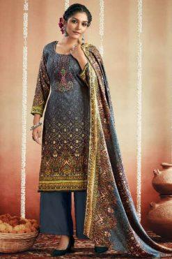GSM Zeba Vol 3 Pashmina Salwar Suit Wholesale Catalog 10 Pcs