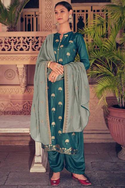 Kapil Trendz Ziah Salwar Suit Wholesale Catalog 9 Pcs