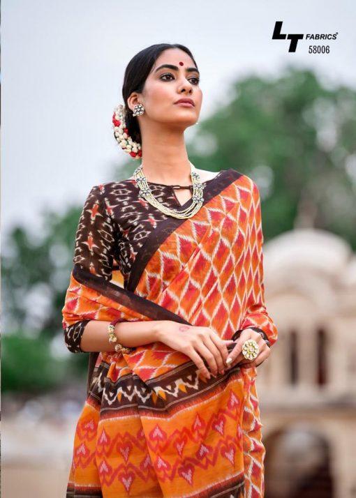 Kashvi Nivrata by Lt Fabrics Saree Sari Wholesale Catalog 10 Pcs 14 510x714 - Kashvi Nivrata by Lt Fabrics Saree Sari Wholesale Catalog 10 Pcs