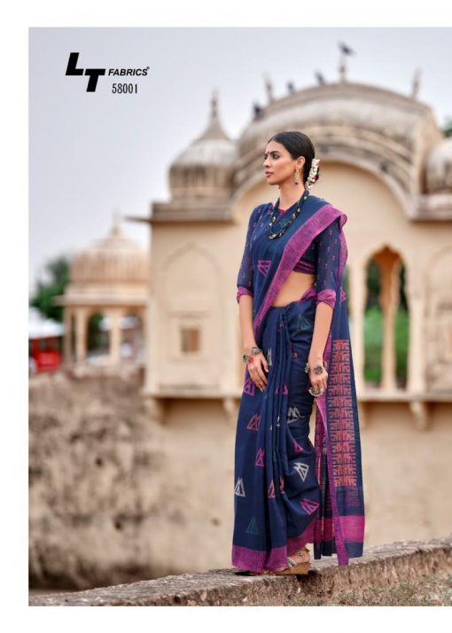 Kashvi Nivrata by Lt Fabrics Saree Sari Wholesale Catalog 10 Pcs 2 510x714 - Kashvi Nivrata by Lt Fabrics Saree Sari Wholesale Catalog 10 Pcs