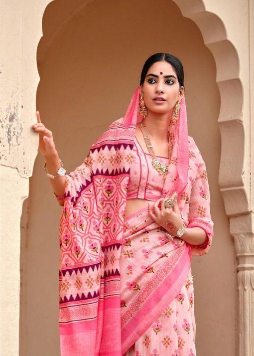 Kashvi Nivrata by Lt Fabrics Saree Sari Wholesale Catalog 10 Pcs 4 510x714 - Kashvi Nivrata by Lt Fabrics Saree Sari Wholesale Catalog 10 Pcs