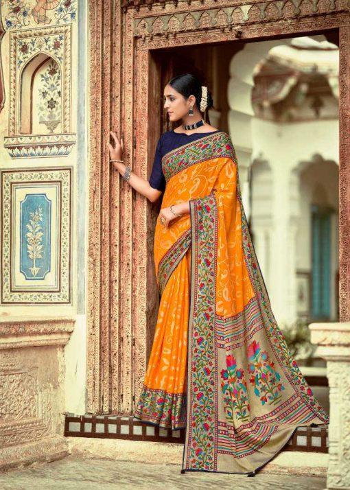 Kashvi Paithani Silk by Lt Fabrics Saree Sari Wholesale Catalog 10 Pcs 10 510x714 - Kashvi Paithani Silk by Lt Fabrics Saree Sari Wholesale Catalog 10 Pcs