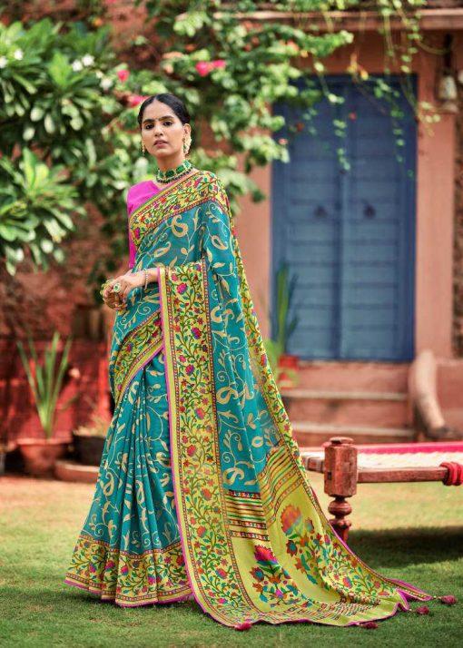 Kashvi Paithani Silk by Lt Fabrics Saree Sari Wholesale Catalog 10 Pcs 18 510x714 - Kashvi Paithani Silk by Lt Fabrics Saree Sari Wholesale Catalog 10 Pcs