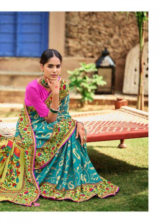 Kashvi Paithani Silk by Lt Fabrics Saree Sari Wholesale Catalog 10 Pcs 19 510x714 - Kashvi Paithani Silk by Lt Fabrics Saree Sari Wholesale Catalog 10 Pcs