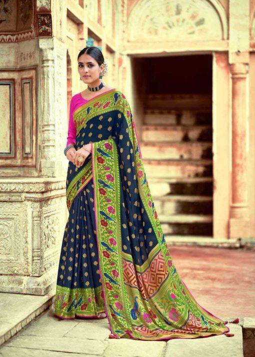 Kashvi Paithani Silk by Lt Fabrics Saree Sari Wholesale Catalog 10 Pcs 21 510x714 - Kashvi Paithani Silk by Lt Fabrics Saree Sari Wholesale Catalog 10 Pcs