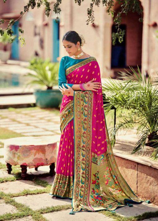 Kashvi Paithani Silk by Lt Fabrics Saree Sari Wholesale Catalog 10 Pcs 24 510x714 - Kashvi Paithani Silk by Lt Fabrics Saree Sari Wholesale Catalog 10 Pcs