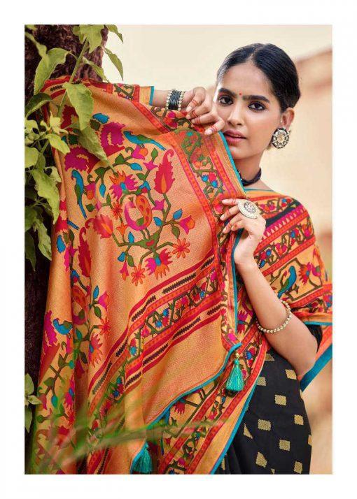 Kashvi Paithani Silk by Lt Fabrics Saree Sari Wholesale Catalog 10 Pcs 26 510x714 - Kashvi Paithani Silk by Lt Fabrics Saree Sari Wholesale Catalog 10 Pcs