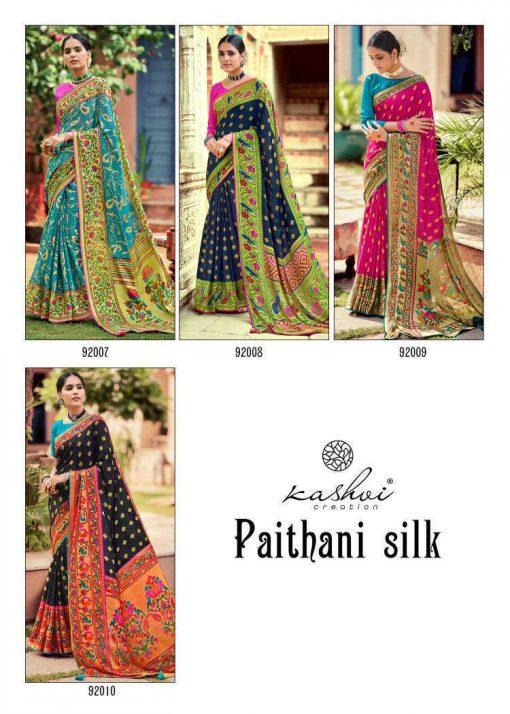 Kashvi Paithani Silk by Lt Fabrics Saree Sari Wholesale Catalog 10 Pcs 27 510x714 - Kashvi Paithani Silk by Lt Fabrics Saree Sari Wholesale Catalog 10 Pcs