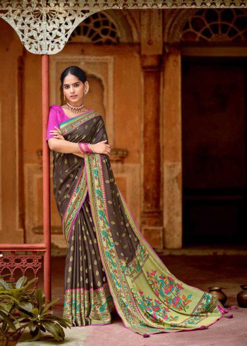 Kashvi Paithani Silk by Lt Fabrics Saree Sari Wholesale Catalog 10 Pcs 6 510x714 - Kashvi Paithani Silk by Lt Fabrics Saree Sari Wholesale Catalog 10 Pcs