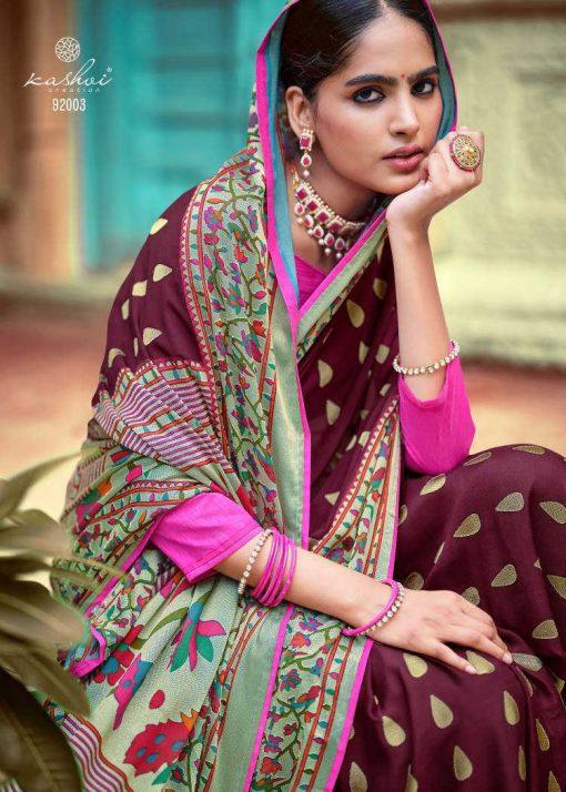 Kashvi Paithani Silk by Lt Fabrics Saree Sari Wholesale Catalog 10 Pcs 7 510x714 - Kashvi Paithani Silk by Lt Fabrics Saree Sari Wholesale Catalog 10 Pcs