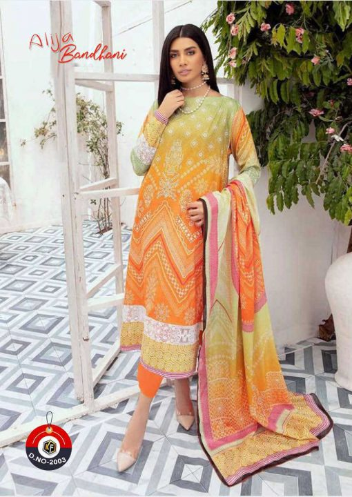 Keval Fab Alija Bandhani Special Vol 2 Salwar Suit Wholesale Catalog 6 Pcs 6 510x720 - Keval Fab Alija Bandhani Special Vol 2 Salwar Suit Wholesale Catalog 6 Pcs