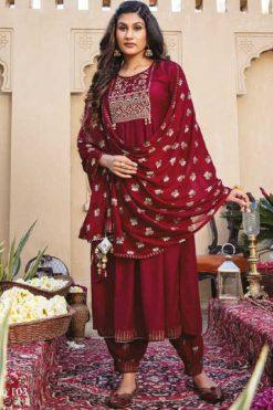 Kiana Ishq Kurti with Dupatta Bottom Wholesale Catalog 6 Pcs