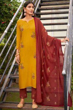 Kivi Sundri by Kajree Kurti with Dupatta Bottom Wholesale Catalog 8 Pcs