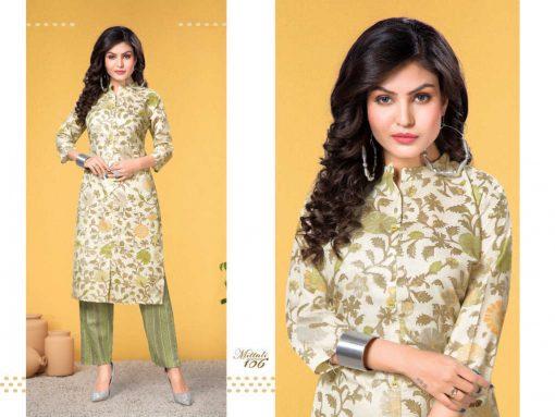 Mittali Kurti with Pant Wholesale Catalog 8 Pcs 7 510x383 - Mittali Kurti with Pant Wholesale Catalog 8 Pcs