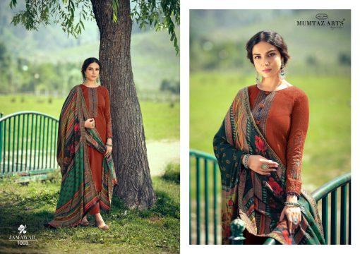 Mumtaz Arts Jamawar Pashmina Salwar Suit Wholesale Catalog 8 Pcs 8 510x360 - Mumtaz Arts Jamawar Pashmina Salwar Suit Wholesale Catalog 8 Pcs