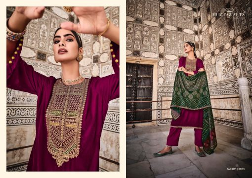 Mumtaz Arts Tarruf Velvet Vol 3 Salwar Suit Wholesale Catalog 8 Pcs 1 510x360 - Mumtaz Arts Tarruf Velvet Vol 3 Salwar Suit Wholesale Catalog 8 Pcs