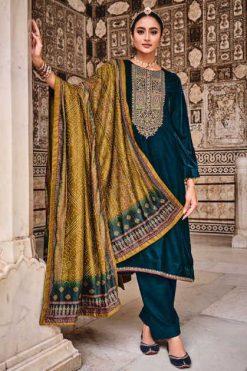 Mumtaz Arts Tarruf Velvet Vol 3 Salwar Suit Wholesale Catalog 8 Pcs